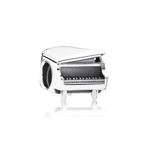 Sterling Silver Pandora Piano Charm